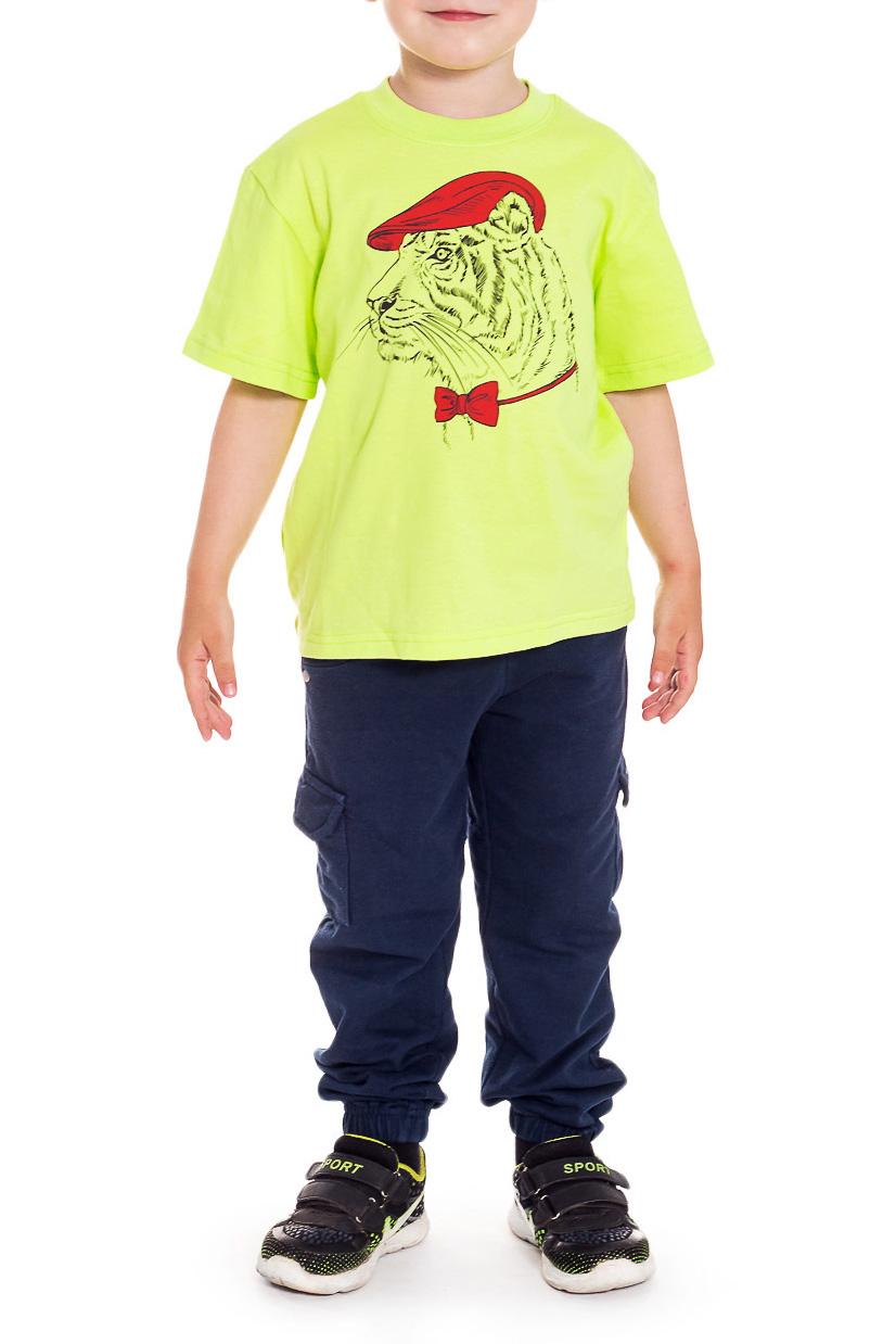 ФутболкаФутболки<br>Хлопковая футболка для мальчика  Размер 92 соответствует росту 87-92 см Размер 98 соответствует росту 93-98 см Размер 104 соответствует росту 98-104 см Размер 110 соответствует росту 105-110 см  Цвет: зеленый<br><br>Горловина: С- горловина<br>По длине: Удлиненные<br>По материалу: Хлопковые<br>По образу: Повседневные<br>По рисунку: Однотонные,С принтом (печатью)<br>По сезону: Лето<br>По силуэту: Полуприталенные<br>Рукав: Короткий рукав<br>По возрасту: Дошкольные ( от 3 до 7 лет),Ясельные ( от 1 до 3 лет)<br>Размер : 110<br>Материал: Хлопок<br>Количество в наличии: 2