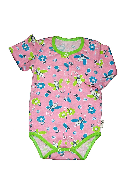 БодиКофточки<br>Хлопковое боди для новорожденного  В изделии использованы цвета: розовый, голубой, зеленый.  Размер соответствует росту ребенка.<br><br>По сезону: Всесезон<br>Размер : 68,74<br>Материал: Хлопок<br>Количество в наличии: 2