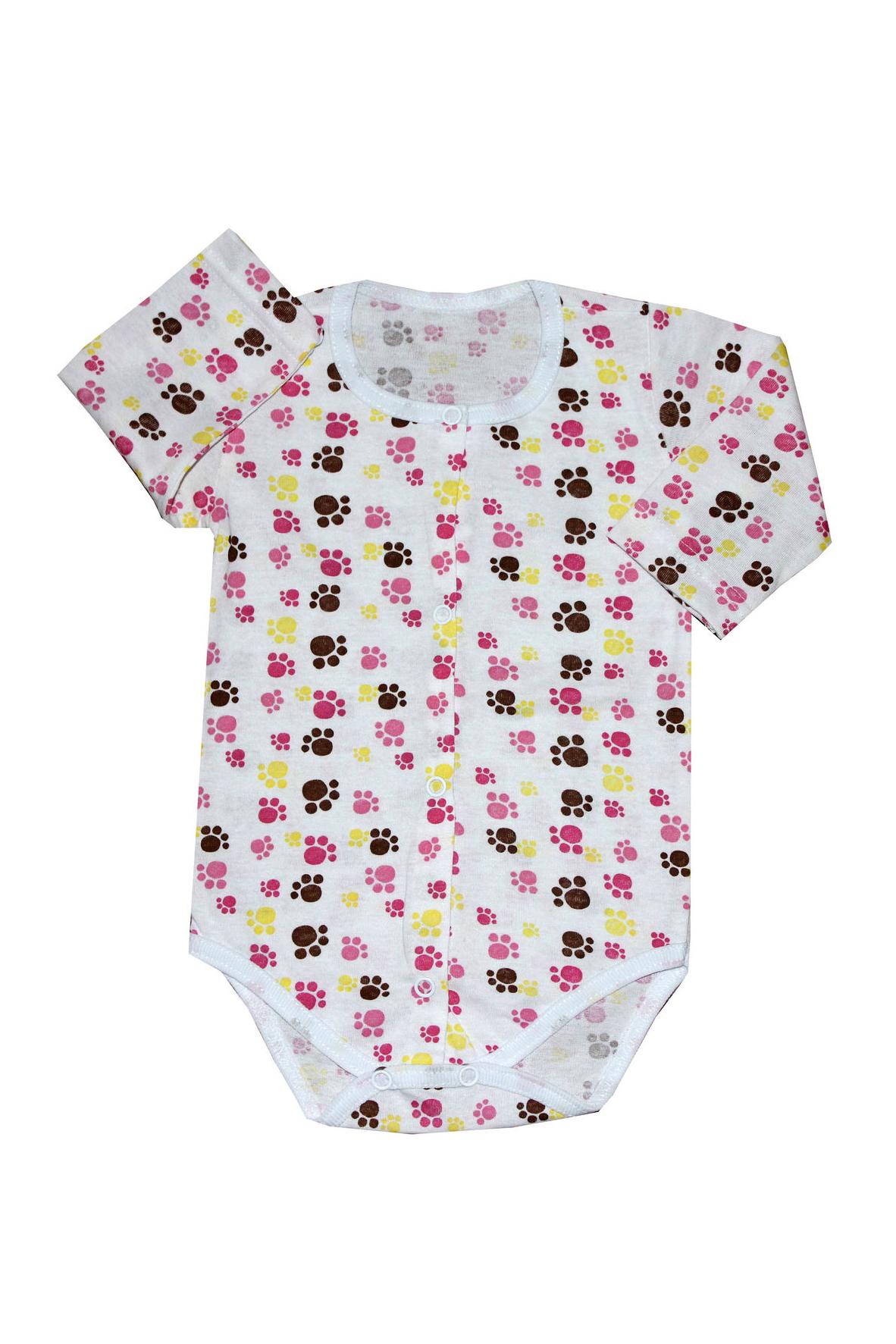 БодиКофточки<br>Хлопковое боди для новорожденного  В изделии использованы цвета: белый и др.  Размер соответствует росту ребенка.<br><br>По сезону: Всесезон<br>Размер : 68,74<br>Материал: Хлопок<br>Количество в наличии: 2