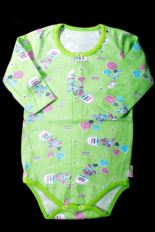 БодиКофточки<br>Хлопковое боди для новорожденного  В изделии использованы цвета: зеленый и др.  Размер соответствует росту ребенка.<br><br>По сезону: Всесезон<br>Размер : 68,74<br>Материал: Хлопок<br>Количество в наличии: 2