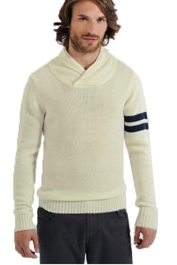 ДжемперДжемперы<br>Уютный мужской джемпер с длинными рукавами. Отличный выбор для повседневного гардероба.  Цвет: молочный, синий<br><br>По сезону: Осень,Весна<br>Размер : 46-48,48-50,50-52,52-54<br>Материал: Вязаное полотно<br>Количество в наличии: 13