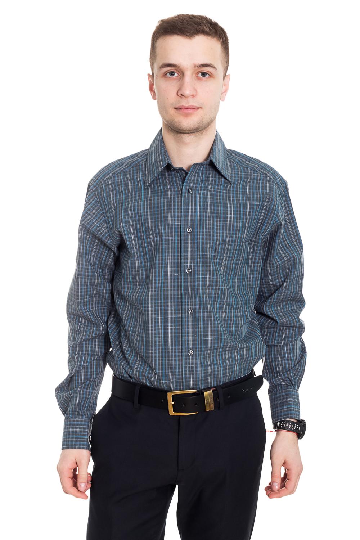 РубашкаРубашки<br>Классическая мужская рубашка. Отличный вариант для любого случая.  Цвет: серый, синий.  Рост мужчины-фотомодели 182 см  размер ворота 37/38<br><br>По сезону: Всесезон<br>Размер : 46-48<br>Материал: Хлопок<br>Количество в наличии: 3