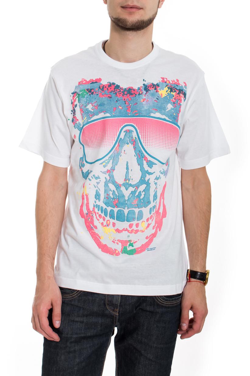 ФутболкаФутболки<br>Качественная мужская футболка пошитая из кулирной пряжи по новой технологии без боковых швов и состоит из 100% хлопка.  В изделии использованы цвета: белый, голубой, розовый  Рост мужчины-фотомодели 182 см<br><br>По сезону: Всесезон<br>Размер : 50,52<br>Материал: Трикотаж<br>Количество в наличии: 3