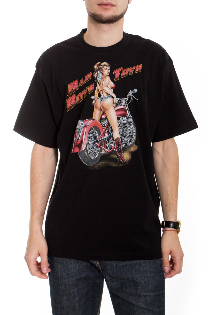 ФутболкаФутболки<br>Качественная мужская футболка пошитая из кулирной пряжи по новой технологии без боковых швов и состоит из 100% хлопка.  В изделии использованы цвета: черный, красный, бежевый  Рост мужчины-фотомодели 182 см<br><br>По сезону: Всесезон<br>Размер : 50<br>Материал: Трикотаж<br>Количество в наличии: 2