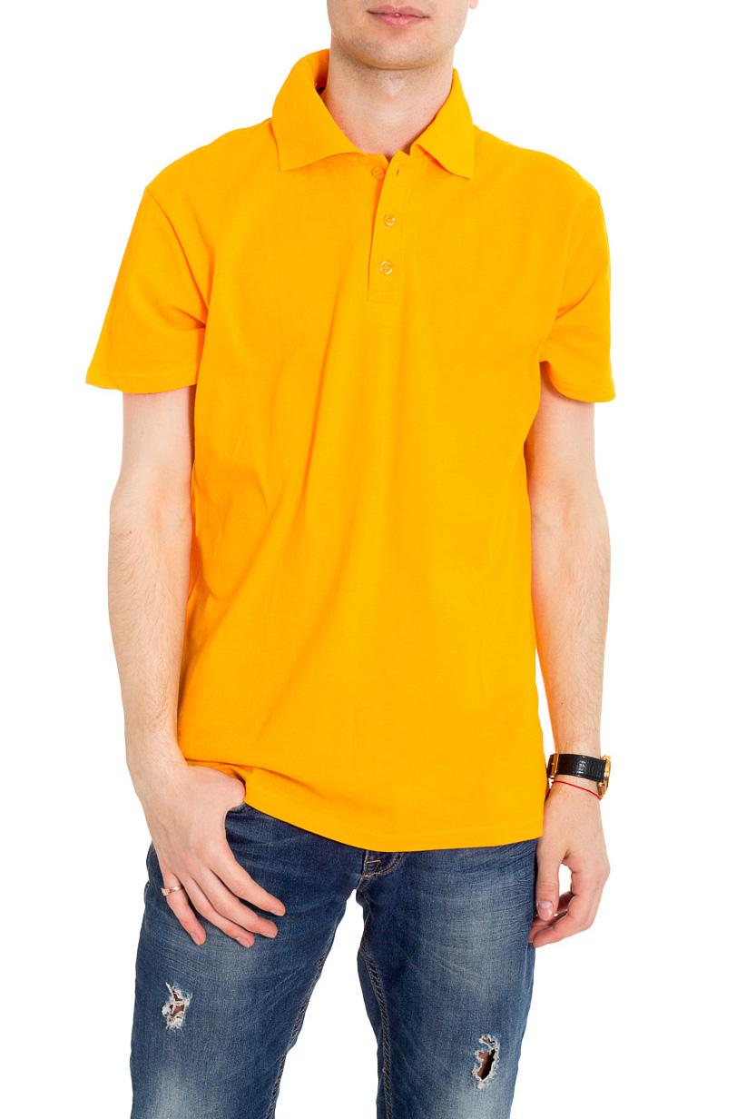 ФутболкаФутболки<br>Хлопковая мужская футболка поло с короткими рукавами.  Цвет: желтый.  Ростовка изделия 182 см.<br><br>По сезону: Всесезон<br>Размер : 46,48,50,52,54<br>Материал: Трикотаж<br>Количество в наличии: 25