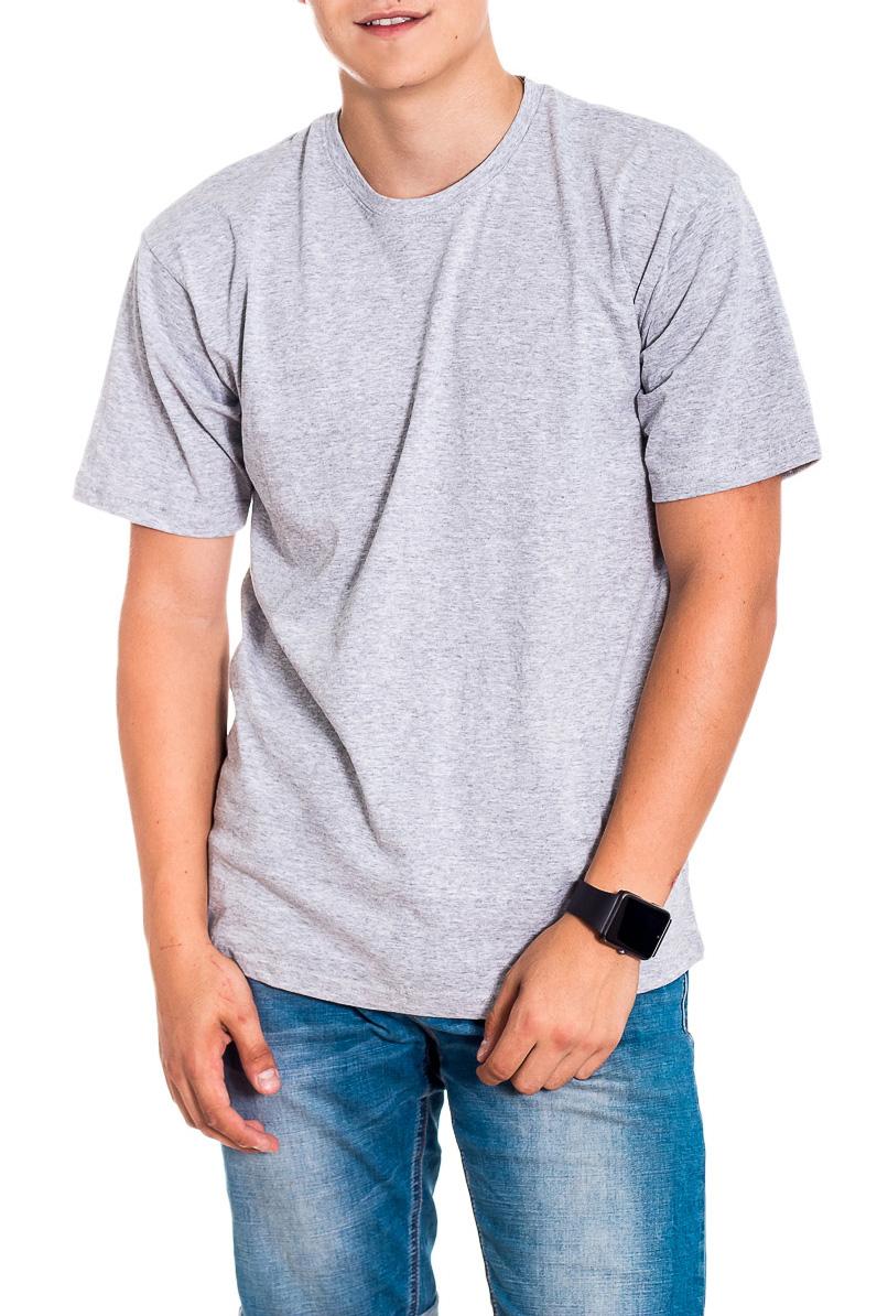 ФутболкаФутболки<br>Мужская хлопковая футболка с короткими рукавами. Отличный выбор для базового гардероба.   Цвет: серый  Рост мужчины-фотомодели 178 см<br><br>По сезону: Всесезон<br>Размер : 56<br>Материал: Хлопок<br>Количество в наличии: 1