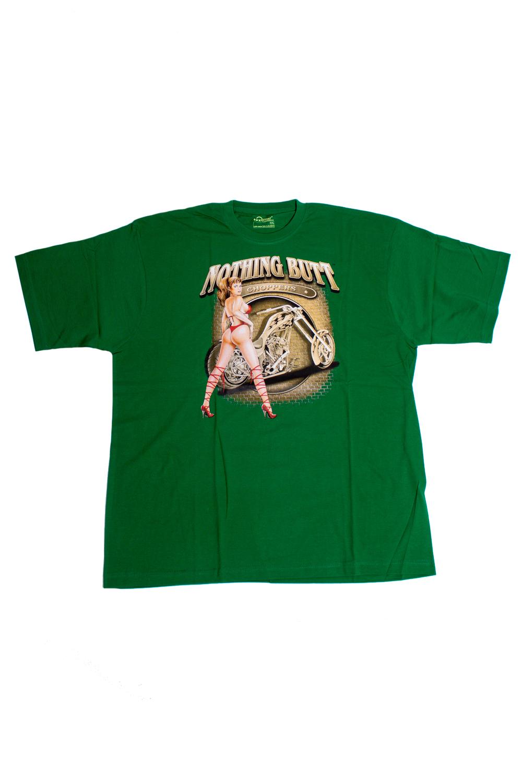 ФутболкаФутболки<br>Качественная мужская футболка пошитая из кулирной пряжи по новой технологии без боковых швов и состоит из 100% хлопка.  В изделии использованы цвета: зеленый, бежевый и др.  Ростовка изделия 175-180 см<br><br>По сезону: Всесезон<br>Размер : 54-56<br>Материал: Трикотаж<br>Количество в наличии: 1