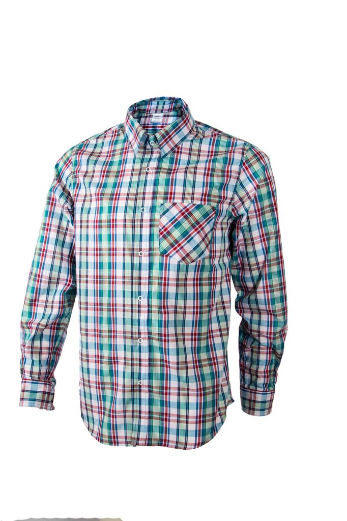 Рубашка рубашка в клетку dc atura 3 atura black