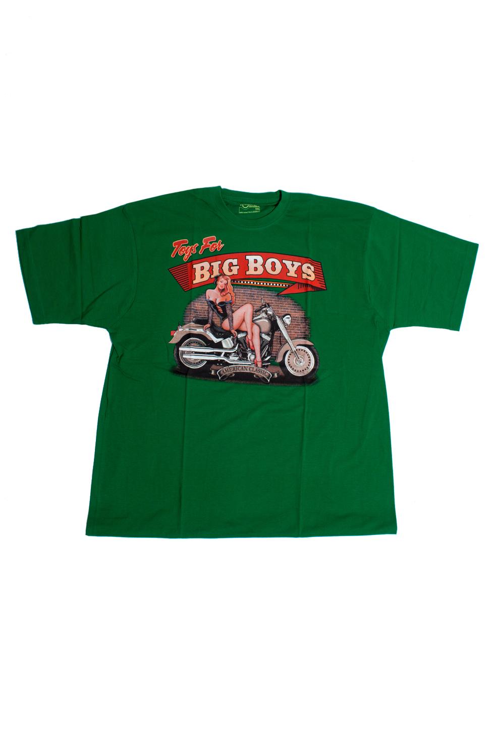 ФутболкаФутболки<br>Качественная мужская футболка пошитая из кулирной пряжи по новой технологии без боковых швов и состоит из 100% хлопка.  В изделии использованы цвета: зеленый и др.  Ростовка изделия 175-180 см<br><br>По сезону: Всесезон<br>Размер : 54-56<br>Материал: Трикотаж<br>Количество в наличии: 1
