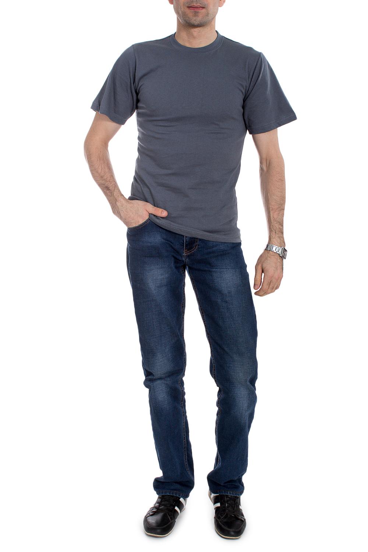 ФутболкаФутболки<br>Мужская трикотажная футболка. Отличный вариант для активного отдыха и для домашнего использования.  В изделии использованы цвета: темно-серый<br><br>По сезону: Всесезон<br>Размер : 52<br>Материал: Трикотаж<br>Количество в наличии: 1