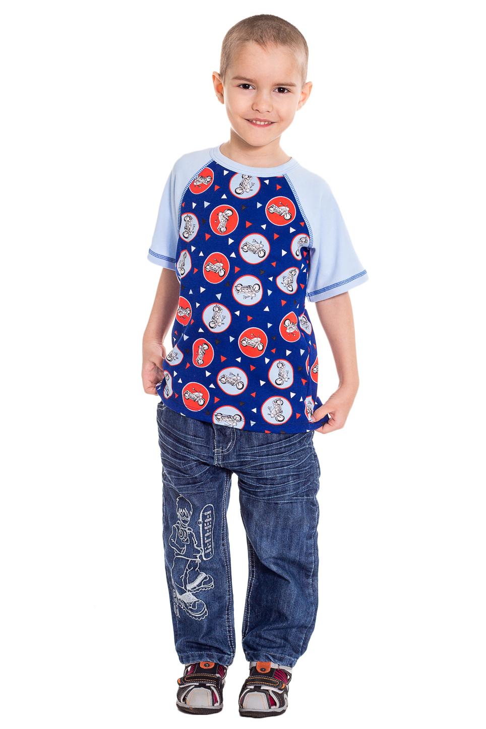 ФутболкаФутболки<br>Хлопковая футболка для мальчика.   Цвет: синий, голубой, красный.  Размер 74 соответствует росту 70-73 см Размер 80 соответствует росту 74-80 см Размер 86 соответствует росту 81-86 см Размер 92 соответствует росту 87-92 см Размер 98 соответствует росту 93-98 см Размер 104 соответствует росту 98-104 см Размер 110 соответствует росту 105-110 см Размер 116 соответствует росту 111-116 см Размер 122 соответствует росту 117-122 см Размер 128 соответствует росту 123-128 см Размер 134 соответствует росту 129-134 см Размер 140 соответствует росту 135-140 см Размер 146 соответствует росту 141-146 см Размер 152 соответствует росту 147-152 см Размер 158 соответствует росту 153-158 см Размер 164 соответствует росту 159-164 см<br><br>Горловина: С- горловина<br>По образу: Спорт<br>По рисунку: С принтом (печатью),Цветные<br>По сезону: Весна,Зима,Лето,Осень,Всесезон<br>По стилю: Спортивные<br>По возрасту: Дошкольные ( от 3 до 7 лет),Ясельные ( от 1 до 3 лет)<br>Размер : 104,110,122,92<br>Материал: Трикотаж<br>Количество в наличии: 9