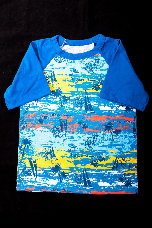 ФутболкаФутболки<br>Яркая футболка для мальчика  В изделии использованы цвета: синий, голубой и др.  Размер 74 соответствует росту 70-73 см Размер 80 соответствует росту 74-80 см Размер 86 соответствует росту 81-86 см Размер 92 соответствует росту 87-92 см Размер 98 соответствует росту 93-98 см Размер 104 соответствует росту 98-104 см Размер 110 соответствует росту 105-110 см Размер 116 соответствует росту 111-116 см Размер 122 соответствует росту 117-122 см Размер 128 соответствует росту 123-128 см Размер 134 соответствует росту 129-134 см Размер 140 соответствует росту 135-140 см Размер 146 соответствует росту 141-146 см<br><br>Горловина: С- горловина<br>По возрасту: Дошкольные ( от 3 до 7 лет),Ясельные ( от 1 до 3 лет)<br>По длине: Удлиненные<br>По образу: Повседневные<br>По рисунку: С принтом (печатью),Цветные<br>По сезону: Весна,Зима,Лето,Осень,Всесезон<br>По силуэту: Полуприталенные<br>По стилю: Повседневные<br>Рукав: Короткий рукав<br>Размер : 116,86<br>Материал: Трикотаж<br>Количество в наличии: 3