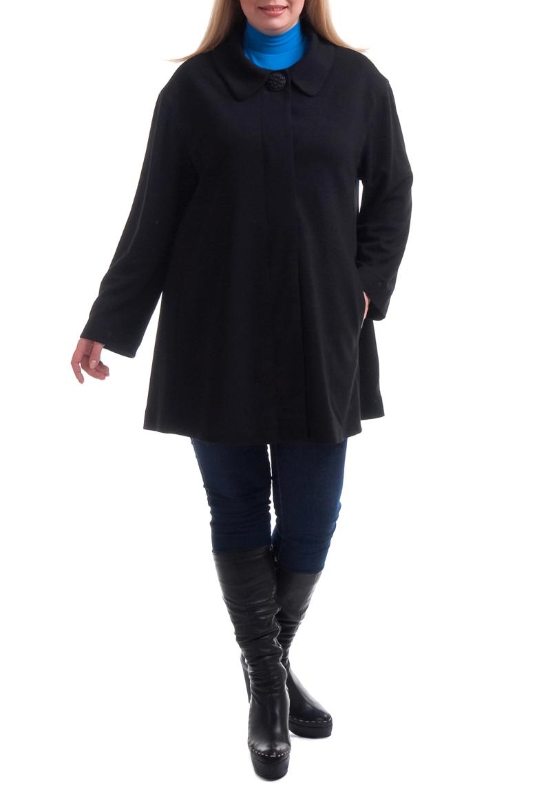 КардиганКардиганы<br>Удлиненный кардиган свободного силуэта с отложным воротником. Модель выполнена из плотного трикотажа. Отличный выбор для повседневного гардероба.  Цвет: черный  Рост девушки-фотомодели 173 см.<br><br>Воротник: Отложной<br>Застежка: С пуговицами<br>По материалу: Вискоза,Трикотаж<br>По образу: Офис,Свидание<br>По рисунку: Однотонные<br>По силуэту: Свободные<br>По стилю: Офисный стиль,Повседневный стиль<br>По элементам: С карманами<br>Рукав: Длинный рукав<br>По сезону: Зима<br>По длине: Удлиненные<br>Размер : 54,56,58,64,68<br>Материал: Трикотаж<br>Количество в наличии: 11