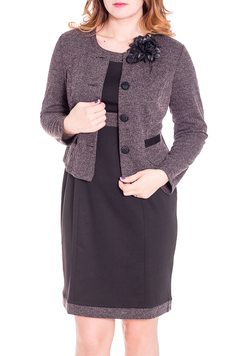Костюм (жакет+платье) LacyWear GK(35)-ARS