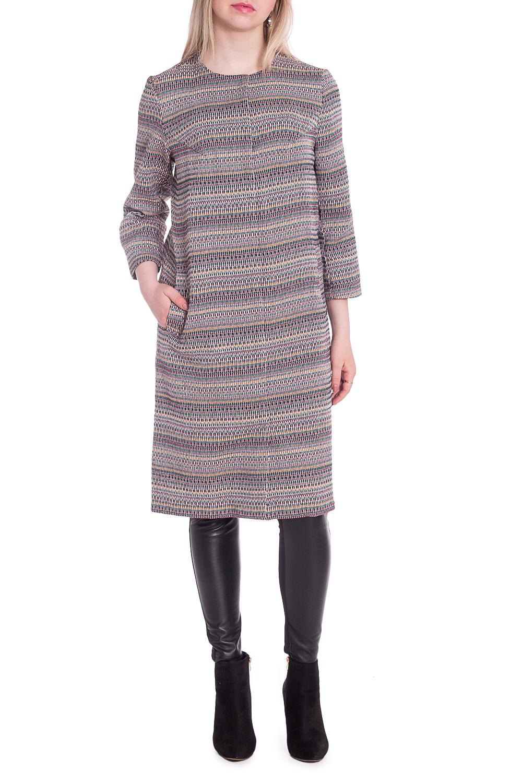 ЖакетЖакеты<br>Удлиненный жакет с круглой горловиной и рукавами 3/4. Модель выполнена из плотной костюмной ткани. Отличный выбор для повседневного гардероба.  В изделии использованы цвета: сиреневый, розовый и др.  Рост девушки-фотомодели 170 см<br><br>Горловина: С- горловина<br>По длине: Удлиненные<br>По материалу: Костюмные ткани<br>По рисунку: В полоску,Цветные<br>По силуэту: Полуприталенные<br>По стилю: Кэжуал,Повседневный стиль<br>По элементам: С карманами<br>Рукав: Рукав три четверти<br>По сезону: Осень,Весна<br>Размер : 44,46,48,50,52<br>Материал: Костюмная ткань<br>Количество в наличии: 20