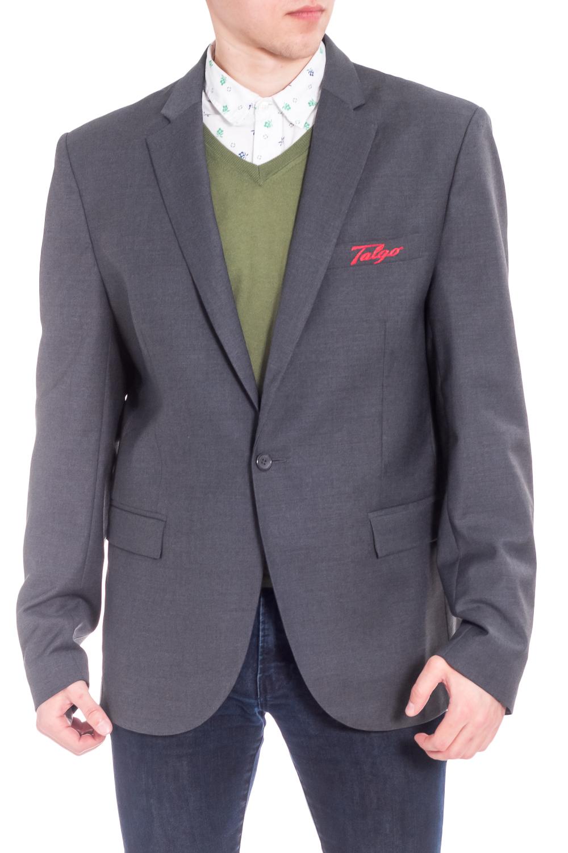 ПиджакПиджаки<br>Классический пиджак с застежкой на одну пуговицу. Модель выполнена из костюмной ткани с добавлением шерсти. Отличный выбор для повседневного и делового гардероба.  В изделии использованы цвета: серый  Ростовка изделия 176 см.  Рост мужчины-фотомодели 176 см.<br><br>По сезону: Осень,Весна<br>Размер : 52,54<br>Материал: Костюмная ткань<br>Количество в наличии: 2