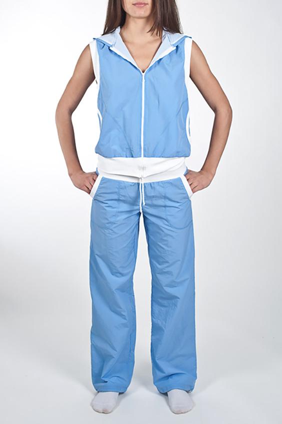 ЖилетСпортивная одежда<br>Стильный жилет с длинной молнией, двумя карманами и капюшоном для занятия спортом или прогулок. Модель декорирована трансфером на спине в виде бабочки, оригинальный дизайн изделия не позволит Вам остаться незамеченной. В данной модели используется подкладочная ткань сетка, обеспечивающая комфорт при носке, оптимальные условия микроклимата, не сковывает движений. Модель выполненная из ткани микрофибра - это текстиль новейшего поколения, бархатистая, эластичная, чрезвычайно крепкая ткань, устойчивая к химическому и световому воздействию. К преимуществам микрофибры следует отнести отсутствие капризности: ткань мужественно переносит все тяготы эксплуатации, сохраняя первозданный вид в течение долгих лет.  Цвет: голубой.  Рост девушки-фотомодели 170 см  При создании образа, который Вы видите на фотографии, также были использованы арт. B(3)-NNE. Для просмотра модели введите артикул в строке поиска.<br><br>Застежка: С молнией<br>По материалу: Плащевая ткань<br>По рисунку: Неоновые,Однотонные<br>По сезону: Весна,Зима,Осень,Всесезон<br>По силуэту: Полуприталенные<br>По стилю: Повседневный стиль,Спортивный стиль<br>По форме: Кофты<br>По элементам: С капюшоном,С карманами,С манжетами,С отделочной фурнитурой<br>Рукав: Без рукавов<br>Размер : 46,50<br>Материал: Плащевая ткань<br>Количество в наличии: 2