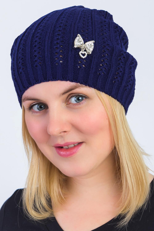 Шапка шапка женская finn flare цвет темно синий синий w16 32120 101 размер 56 page 8 page 10