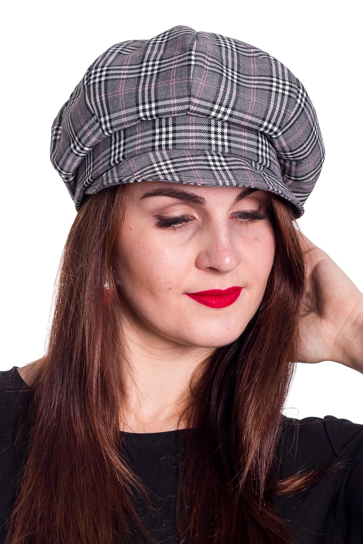 КепкаКепки<br>Стильная кепка на подкладе защитит Вас от непогоды и станет прекрасным дополнением Вашего образа.  В изделии использованы цвета: серый, белый и др.  Размер 56-58 равен обхвату головы в сантиметрах.  Обхват головы измеряется по лобной части над уровнем бровей (на 2-3 сантиметра выше) и по самой выпуклой затылочной части.<br><br>По сезону: Зима<br>Размер : universal<br>Материал: Пальтовая ткань<br>Количество в наличии: 1