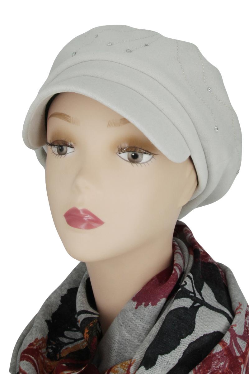 КепкаКепки<br>Красивая кепка защитит Вас от непогоды и станет прекрасным дополнением Вашего образа.  Цвет: светло-серый<br><br>По сезону: Осень,Весна<br>Размер : universal<br>Материал: Кашемир<br>Количество в наличии: 1