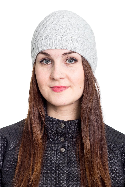 ШапкаШапки<br>Очаровательная шапка подарит Вам тепло и комфорт.  Стильный аксессуар защитит Вас от непогоды и станет прекрасным дополнением Вашего образа.  В изделии использованы цвета: серый<br><br>По материалу: Вязаные<br>По рисунку: Однотонные<br>По сезону: Зима,Осень,Весна<br>Размер : universal<br>Материал: Вязаное полотно<br>Количество в наличии: 1