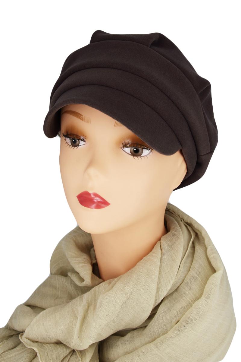 КепкаКепки<br>Красивая кепка защитит Вас от непогоды и станет прекрасным дополнением Вашего образа.  Цвет: коричневый<br><br>По сезону: Осень,Весна<br>Размер : universal<br>Материал: Кашемир<br>Количество в наличии: 1