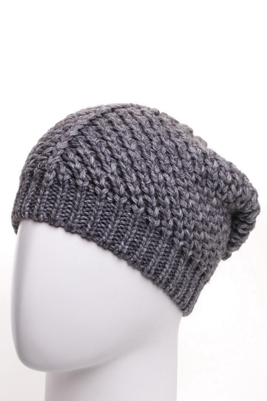 ШапкаШапки<br>Модная шапка крупной вязки подарит Вам тепло и комфорт.  Стильный аксессуар подчеркнет Вашу женственность и станет прекрасным дополнением Вашего образа.  Цвет: серый<br><br>По материалу: Вязаные,Трикотаж<br>По рисунку: Однотонные<br>По сезону: Зима<br>Размер : universal<br>Материал: Вязаное полотно<br>Количество в наличии: 1