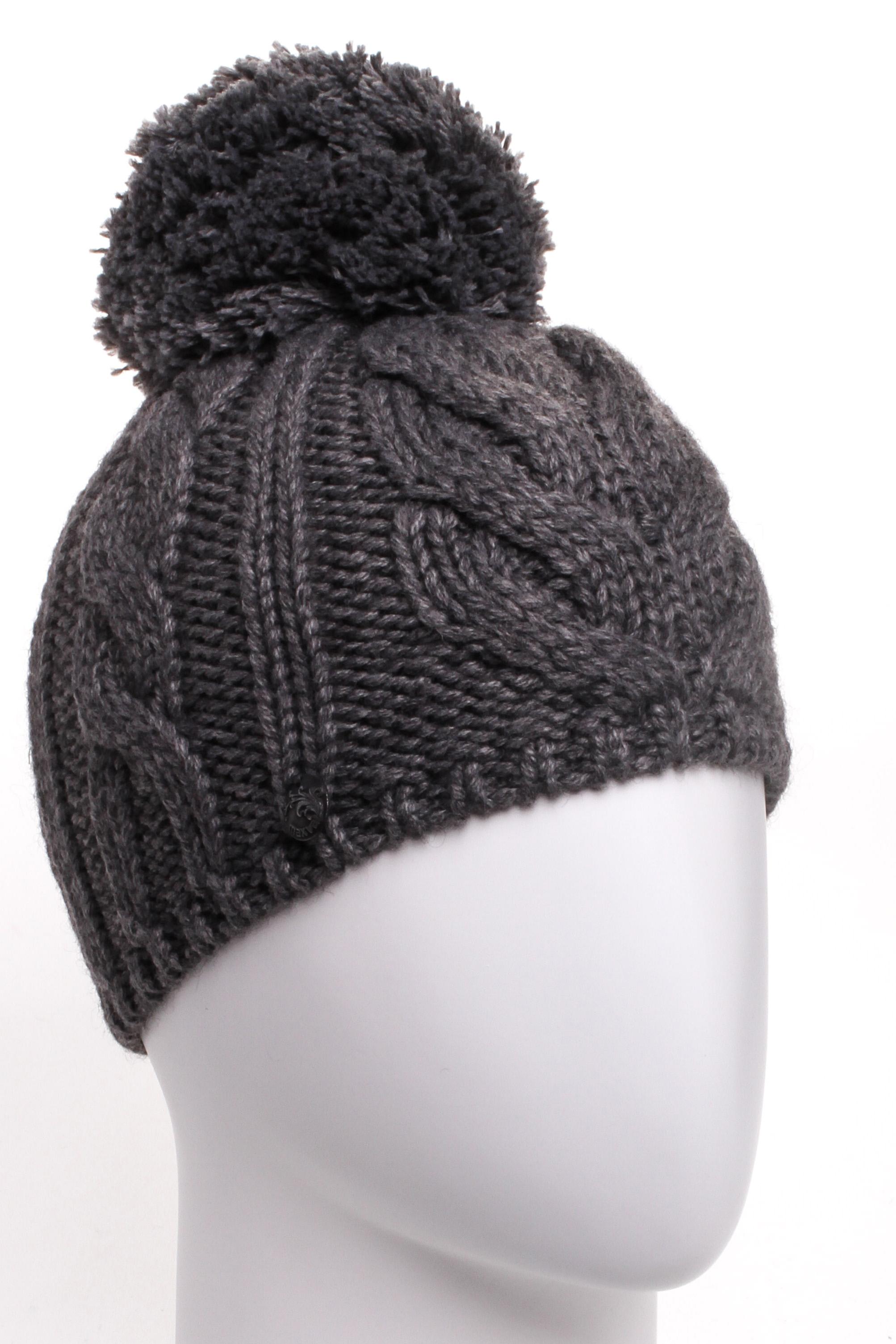 ШапкаШапки<br>Молодежная шапка подарит Вам тепло и комфорт.  Стильный аксессуар подчеркнет Вашу женственность и станет прекрасным дополнением Вашего образа.  Цвет: серый<br><br>По материалу: Вязаные,Трикотаж<br>По рисунку: Однотонные<br>По элементам: С помпоном<br>По сезону: Зима<br>Размер : universal<br>Материал: Вязаное полотно<br>Количество в наличии: 1