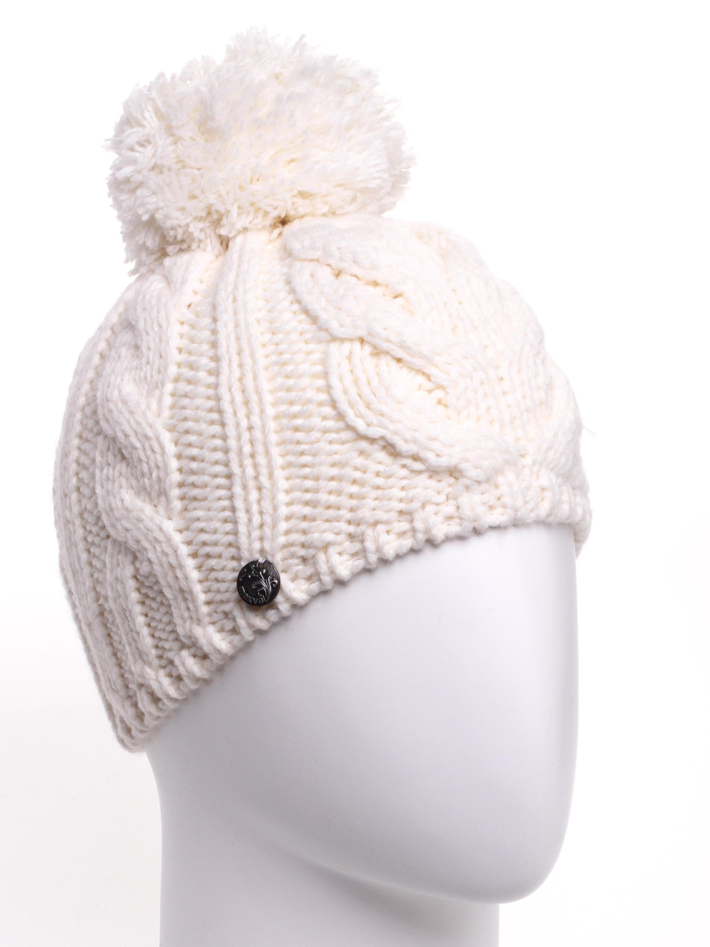 ШапкаШапки<br>Молодежная шапка подарит Вам тепло и комфорт.  Стильный аксессуар подчеркнет Вашу женственность и станет прекрасным дополнением Вашего образа.  Цвет: молочный<br><br>По материалу: Вязаные,Трикотаж<br>По рисунку: Однотонные<br>По элементам: С помпоном<br>По сезону: Зима<br>Размер : universal<br>Материал: Вязаное полотно<br>Количество в наличии: 1