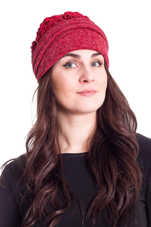 ШапкаШляпы<br>Чудесная шляпа с подкладом из флиса защитит Вас от непогоды и станет прекрасным дополнением Вашего образа.  В изделии использованы цвета: красный  Размер universal (56-58) равен обхвату головы в сантиметрах  Обхват головы измеряется по лобной части над уровнем бровей (на 2-3 сантиметра выше) и по самой выпуклой затылочной части.<br><br>По сезону: Осень,Весна<br>Размер : universal<br>Материал: Трикотаж<br>Количество в наличии: 1