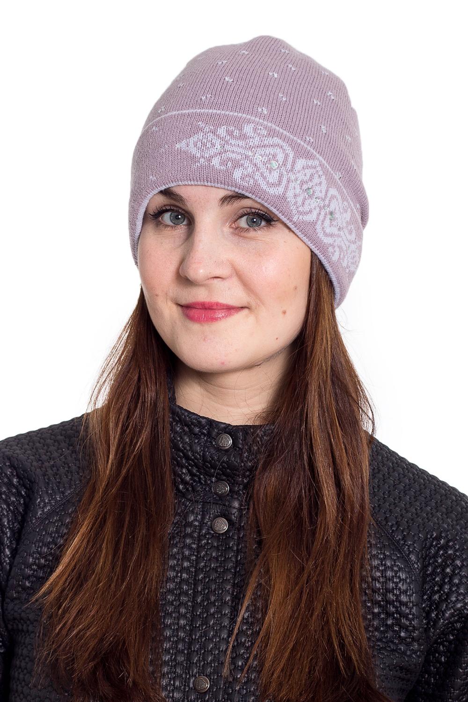ШапкаШапки<br>Однотонная шапка подарит Вам тепло и комфорт.  Стильный аксессуар защитит Вас от непогоды и станет прекрасным дополнением Вашего образа.  В изделии использованы цвета: лиловый<br><br>По материалу: Вязаные<br>По рисунку: Однотонные<br>По сезону: Весна,Осень,Зима<br>Размер : universal<br>Материал: Вязаное полотно<br>Количество в наличии: 1