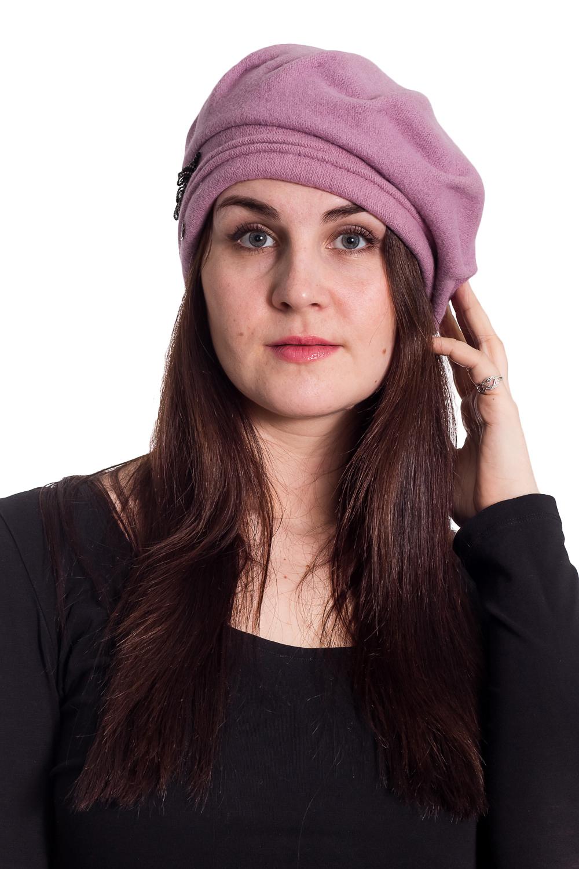 БеретБереты<br>Берет с защипами на околыше защитит Вас от непогоды и станет прекрасным дополнением Вашего образа.  В изделии использованы цвета: розовый  Размер universal (56-58) равен обхвату головы в сантиметрах  Обхват головы измеряется по лобной части над уровнем бровей (на 2-3 сантиметра выше) и по самой выпуклой затылочной части.<br><br>По сезону: Осень,Весна<br>Размер : universal<br>Материал: Вязаное полотно<br>Количество в наличии: 2