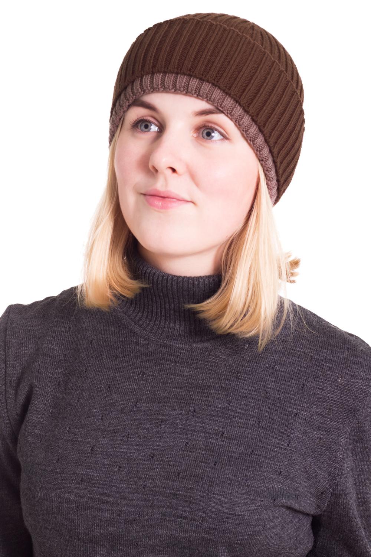 ШапкаШапки<br>Шерстяная шапка подарит Вам тепло и комфорт, а так же подчеркнет Вашу женственность и станет прекрасным дополнением Вашего образа.  Головной убор стандартного размера 56-58 см.  Цвет: коричневый<br><br>По материалу: Вязаные,Шерсть,Трикотаж<br>По рисунку: Однотонные<br>По сезону: Весна,Осень<br>Размер : universal<br>Материал: Вязаное полотно<br>Количество в наличии: 1