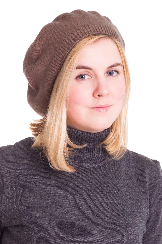 БеретБереты<br>Шерстяной беретик подарит Вам тепло и комфорт, а так же подчеркнет Вашу женственность и станет прекрасным дополнением Вашего образа.  Головной убор стандартного размера 56-58 см.  Цвет: бежевый<br><br>По сезону: Осень,Весна<br>Размер : universal<br>Материал: Шерсть<br>Количество в наличии: 1