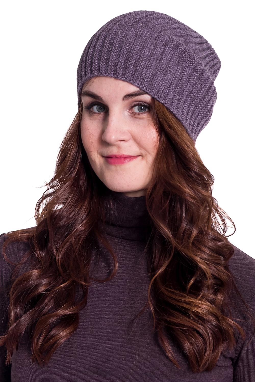 ШапкаШапки<br>Стильная шапка ажурной вязки защитит Вас от непогоды и станет прекрасным дополнением Вашего образа.  Цвет: фиолетовый<br><br>По материалу: Вязаные<br>По рисунку: Однотонные<br>По сезону: Осень,Весна<br>Размер : universal<br>Материал: Вязаное полотно<br>Количество в наличии: 1