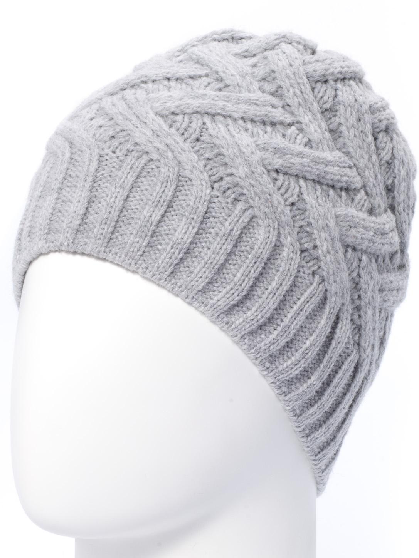 ШапкаШапки<br>Ажурная шапка подарит Вам тепло и комфорт.  Стильный аксессуар защитит Вас от непогоды и станет прекрасным дополнением Вашего образа. Шапка с подкадом.  В изделии использованы цвета: серый<br><br>По материалу: Вязаные,Трикотаж<br>По рисунку: Однотонные<br>По сезону: Зима<br>Размер : universal<br>Материал: Вязаное полотно<br>Количество в наличии: 1