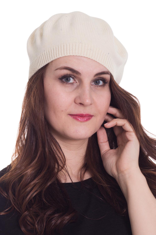 БеретБереты<br>Шерстяной беретик подарит Вам тепло и комфорт, а так же подчеркнет Вашу женственность и станет прекрасным дополнением Вашего образа.  Головной убор стандартного размера 56-58 см.  Цвет: светло-бежевый<br><br>По сезону: Осень,Весна<br>Размер : universal<br>Материал: Вязаное полотно<br>Количество в наличии: 1