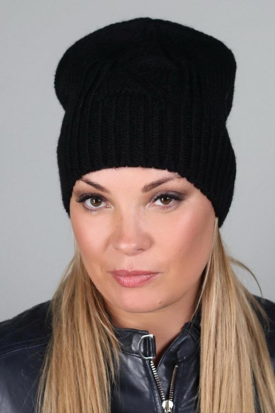 ШапкаШапки<br>Вязаная шапка подарит Вам тепло и комфорт, а так же подчеркнет Вашу женственность и станет прекрасным дополнением Вашего образа.  Головной убор стандартного размера 56-58 см.  Цвет: черный<br><br>По материалу: Вязаные<br>По рисунку: Однотонные<br>По сезону: Осень,Весна<br>Размер : universal<br>Материал: Вязаное полотно<br>Количество в наличии: 1