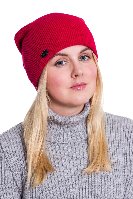 ШапкаШапки<br>Вязаная шапка подарит Вам тепло и комфорт, а так же подчеркнет Вашу женственность и станет прекрасным дополнением Вашего образа.  Головной убор стандартного размера 56-58 см.  Цвет: красный<br><br>По материалу: Вязаные,Шерсть<br>По рисунку: Однотонные<br>По сезону: Осень,Весна<br>Размер : universal<br>Материал: Вязаное полотно<br>Количество в наличии: 2