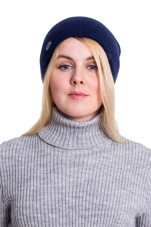 ШапкаШапки<br>Вязаная шапка подарит Вам тепло и комфорт, а так же подчеркнет Вашу женственность и станет прекрасным дополнением Вашего образа.  Головной убор стандартного размера 56-58 см.  Цвет: синий<br><br>По материалу: Вязаные,Шерсть<br>По рисунку: Однотонные<br>По сезону: Осень,Весна<br>Размер : universal<br>Материал: Вязаное полотно<br>Количество в наличии: 2