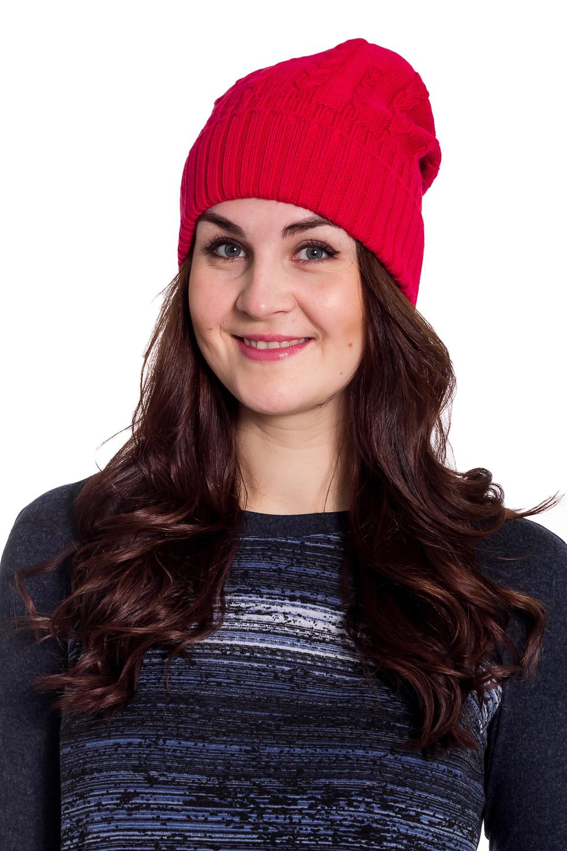 ШапкаШапки<br>Шапка цельновязаная, декориврована ажурной вязкой. Сезон: осень/весна Головной убор стандартного размера 56-58 см.  Шерстяная шапка подарит Вам тепло и комфорт.  Стильная шапка подчеркнет Вашу женственность и станет прекрасным дополнением Вашего образа.  Цвет: красный<br><br>По материалу: Вязаные,Трикотаж,Шерсть<br>По рисунку: Однотонные<br>По сезону: Осень,Весна<br>Размер : universal<br>Материал: Вязаное полотно<br>Количество в наличии: 1