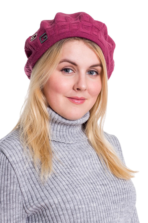 БеретБереты<br>Шерстяной беретик подарит Вам тепло и комфорт.  Стильный берет подчеркнет Вашу женственность и станет прекрасным дополнением Вашего образа.  Головной убор стандартного размера 56-58 см.  Цвет: брусничный<br><br>По сезону: Осень,Весна<br>Размер : universal<br>Материал: Шерсть<br>Количество в наличии: 1