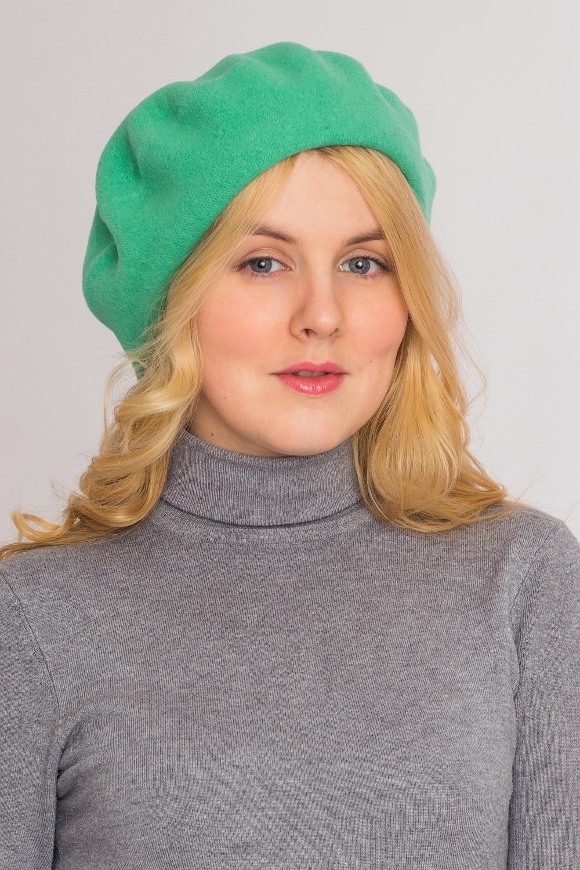 Берет tonak шляпа tonak 303140 салатовый