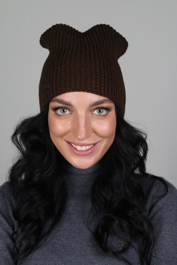 ШапкаШапки<br>Красивая шапка защитит Вас от непогоды и станет прекрасным дополнением Вашего образа.  Цвет: коричневый<br><br>По материалу: Вязаные,Трикотаж<br>По рисунку: Однотонные<br>По сезону: Зима,Осень,Весна<br>Размер : universal<br>Материал: Вязаное полотно<br>Количество в наличии: 1