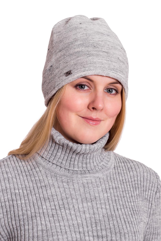 ШапкаШапки<br>Красивая шапка защитит Вас от непогоды и станет прекрасным дополнением Вашего образа.  Цвет: серый<br><br>По материалу: Вязаные,Трикотаж<br>По рисунку: Однотонные<br>По сезону: Зима,Осень,Весна<br>Размер : universal<br>Материал: Вязаное полотно<br>Количество в наличии: 1