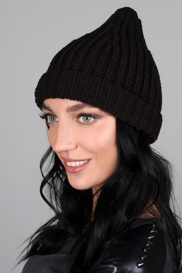 ШапкаШапки<br>Красивая шапка защитит Вас от непогоды и станет прекрасным дополнением Вашего образа.  Цвет: черный<br><br>По материалу: Вязаные,Трикотаж<br>По рисунку: Однотонные<br>По сезону: Зима,Осень,Весна<br>Размер : universal<br>Материал: Вязаное полотно<br>Количество в наличии: 1