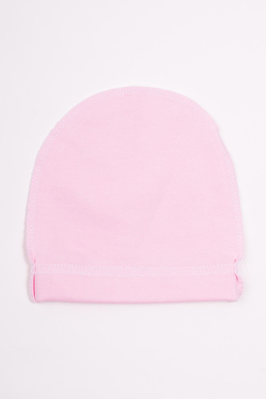 ШапкаШапочки<br>Хлопковая шапочка для новорожденного  Цвет: розовый  Размер соответствует объему головы в сантиметрах<br><br>По сезону: Всесезон<br>Размер : 36,40,44<br>Материал: Хлопок<br>Количество в наличии: 3