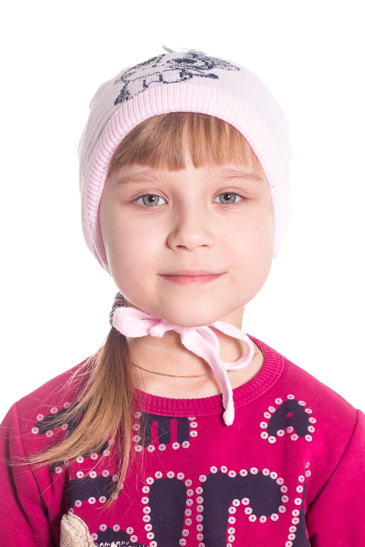 ШапкаГоловные уборы<br>Шапка для девочки защитит Вашего ребенка от непогоды и поднимет настроение.  Размер равен обхвату головы в сантиметрах.  Цвет: розовый.  Сезон осень-весна.  Подкладка 92%хлопок 8%лайкра<br><br>По сезону: Осень,Весна<br>Размер: 48-50<br>Материал: 70% акрил 30% шерсть<br>Количество в наличии: 1