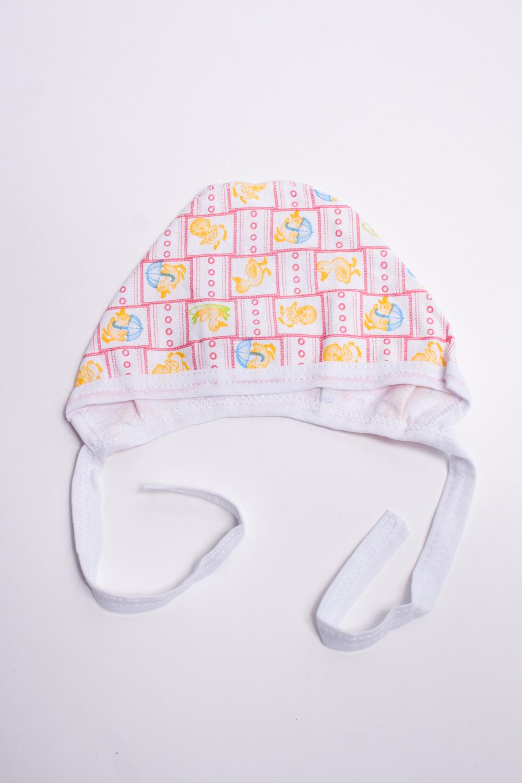 ЧепчикШапочки<br>Хлопковый чепчик для новорожденного.  В изделии использованы цвета: белый, красный и др.  Размер соответствует обхвату головы в сантиметрах.<br><br>По сезону: Всесезон<br>Размер : 36<br>Материал: Футер<br>Количество в наличии: 2