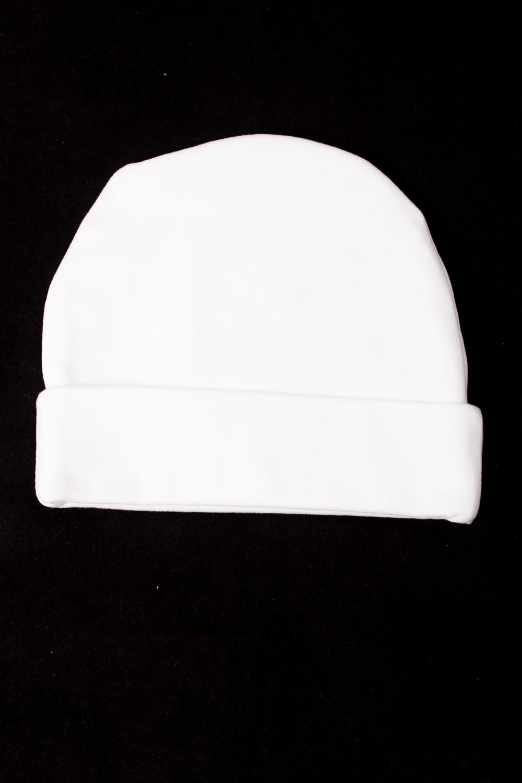 ШапкаШапочки<br>Хлопковая шапочка для новорожденного  Цвет: белый  Размер соответствует объему головы в сантиметрах<br><br>По сезону: Всесезон<br>Размер : 52<br>Материал: Хлопок<br>Количество в наличии: 1